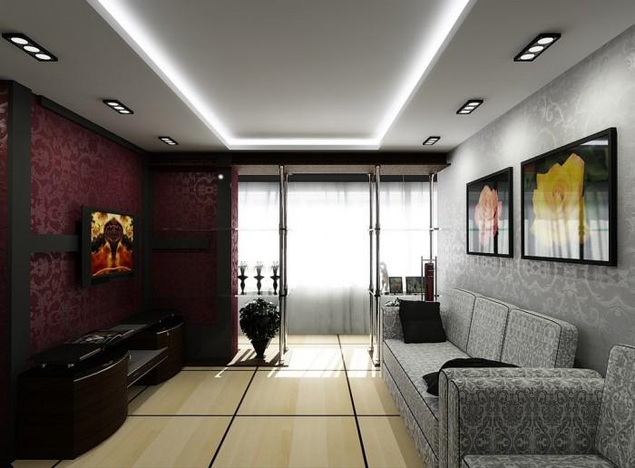 Дизайн квартиры в стиле модерн - интерьер подборка