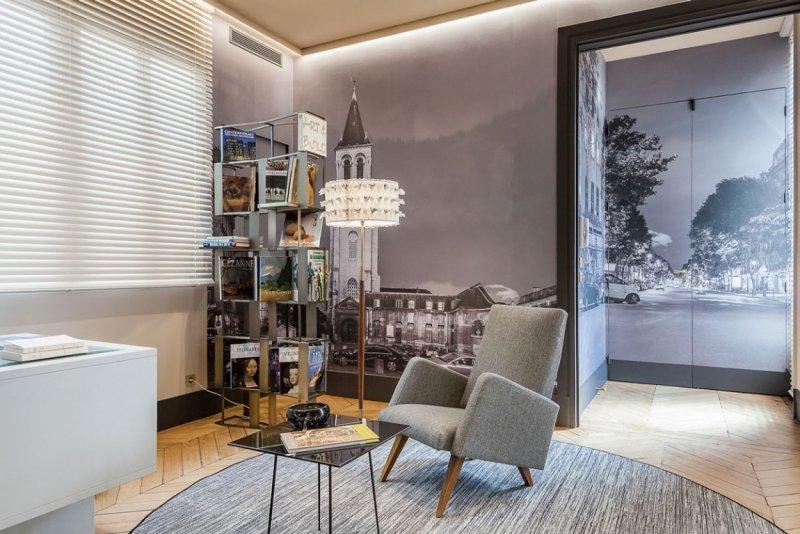Стиль барокко в интерьере фешенебельной парижской квартиры