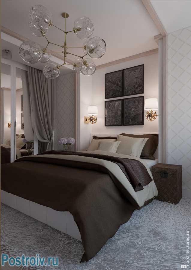 4 Идеи оформления большой спальной комнаты 17-18 кв. м.