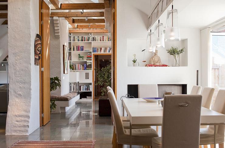Шведский дизайн интерьера квартиры