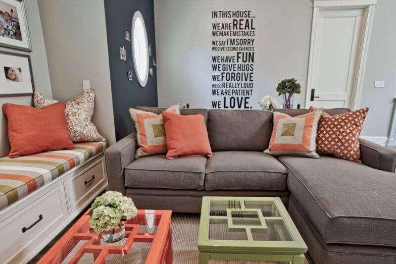 Сочетание цветов в интерьере дома и их влияние на человека