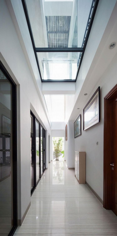 Идея современного дизайна потолка — дом премиум-класса в джакарте