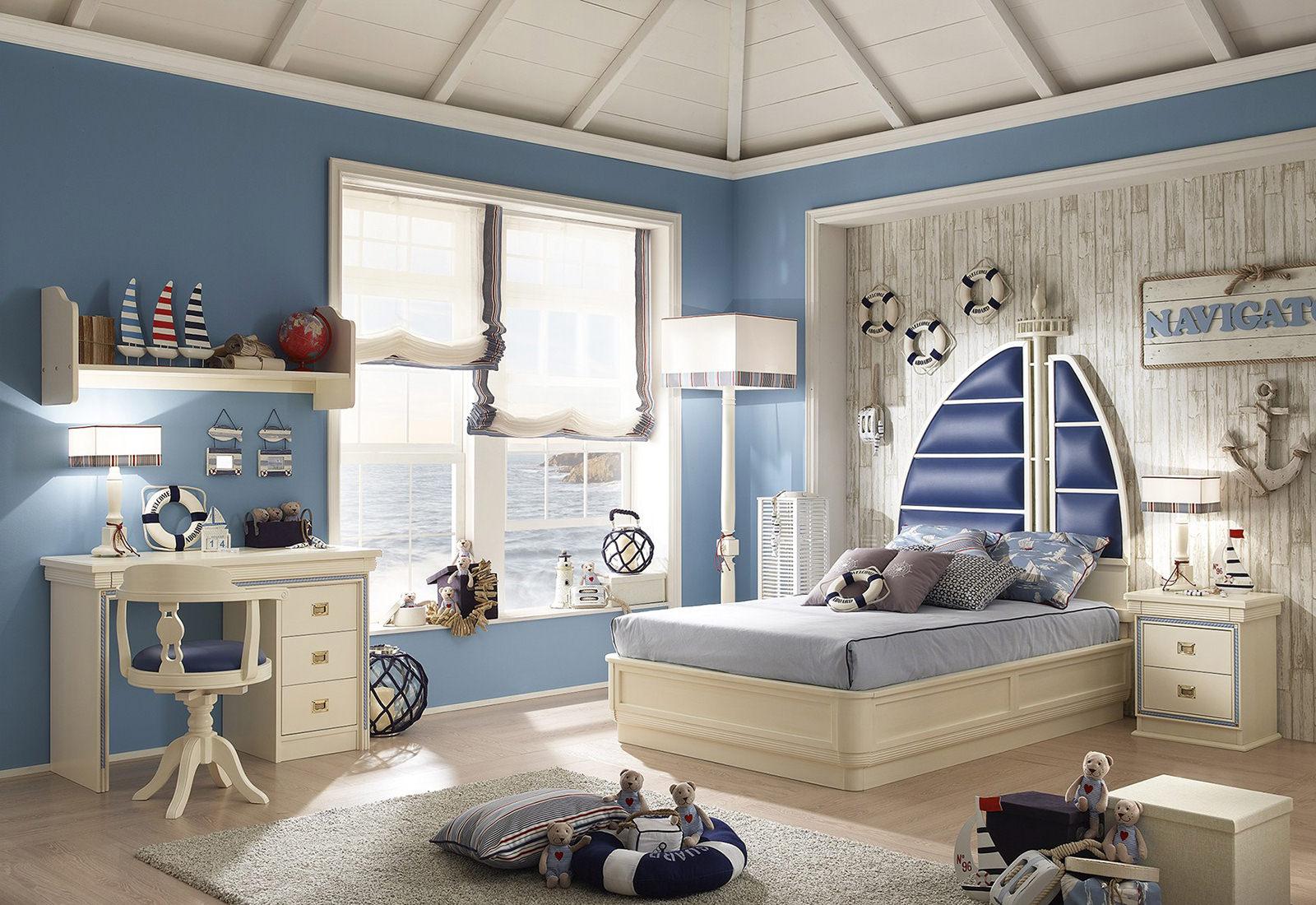 Дизайн комнаты в морском стиле: фото, видео