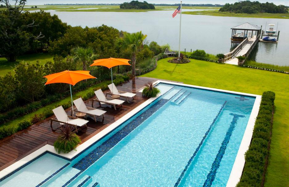 Красивый дом с бассейном из моей мечты - 33 фото идеи вдохновение