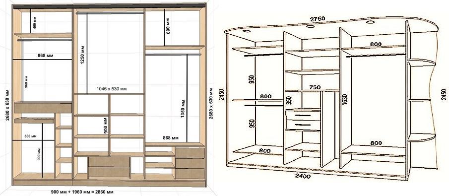 Как сделать шкаф-купе своими руками в домашних условиях? фото и чертежи