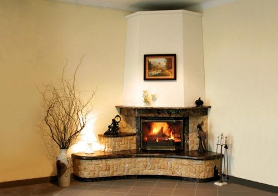 Имитация камина своими руками в квартире. фото