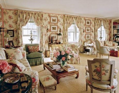 Интерьер дома в английском стиле. фото