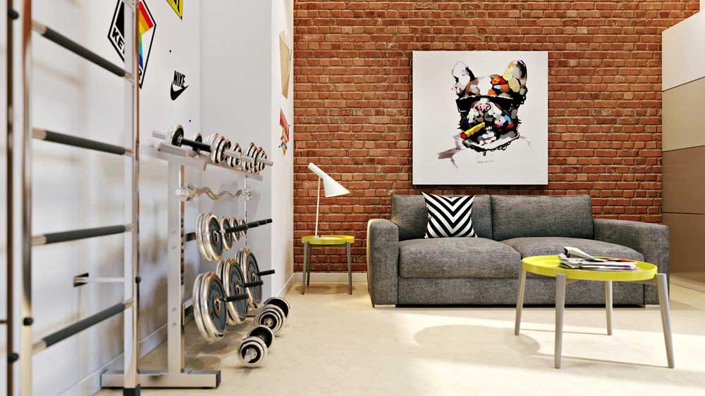 Дизайн комнаты 20 кв м. гостиная или комната для подростка. фото