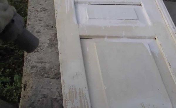 Реставрация старых дверей своими руками. мк с фото до и после