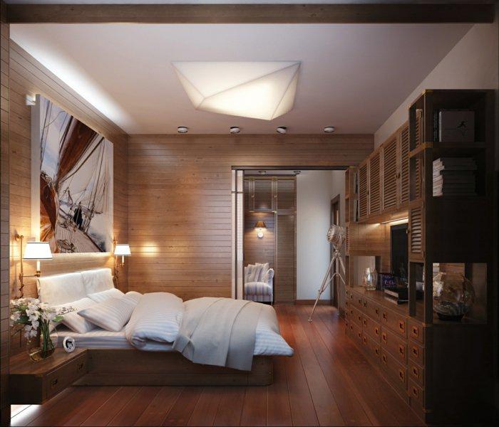 68 Вариантов стильного освещения в спальне
