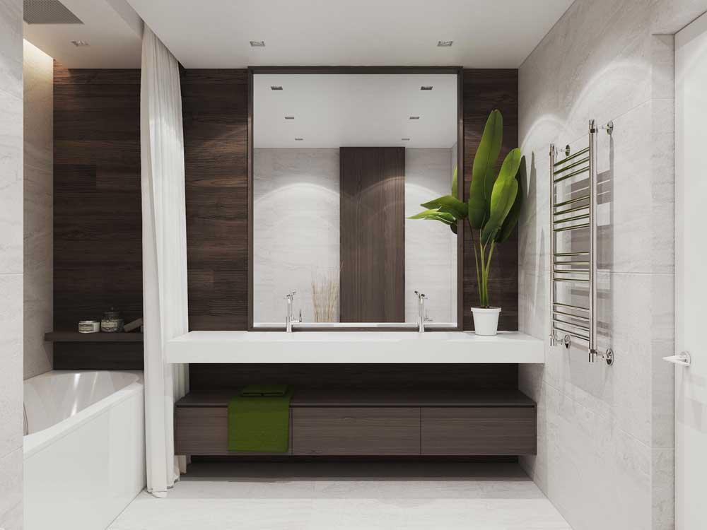 Дизайн 2-х комнатной квартиры площадью 70 кв. метров. фото проекта