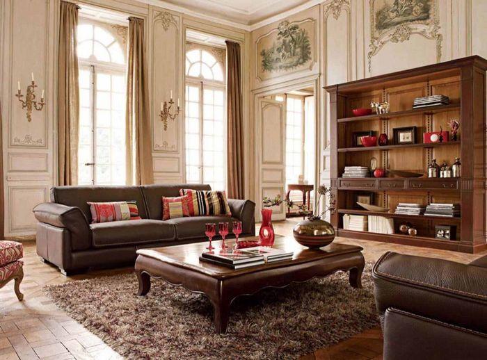 Интерьер гостиной в классическом стиле: варианты оформления