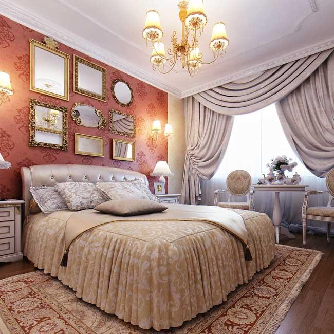 4 Варианта спален в классическом стиле в квартире. фото дизайн спален