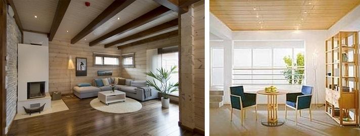 Современный дизайн зала с белой мебелью в панельном доме 15, 16, 17 м2