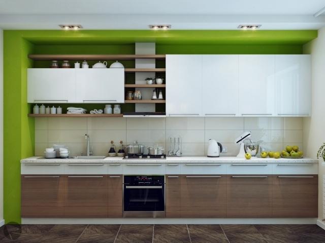 Стильная белая кухня: 40 фото, от которых каждый будет в восторге