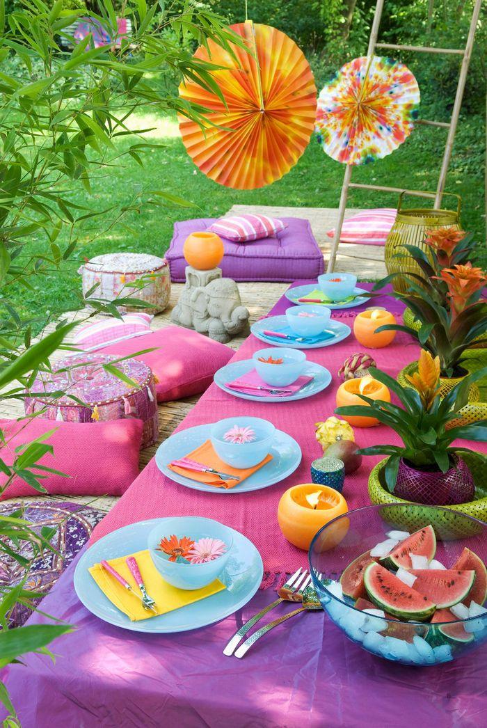 Пять советов для летнего праздника