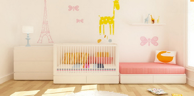 Обустраиваем комнату для новорожденного - важные советы + 100 фото от дизайнеров