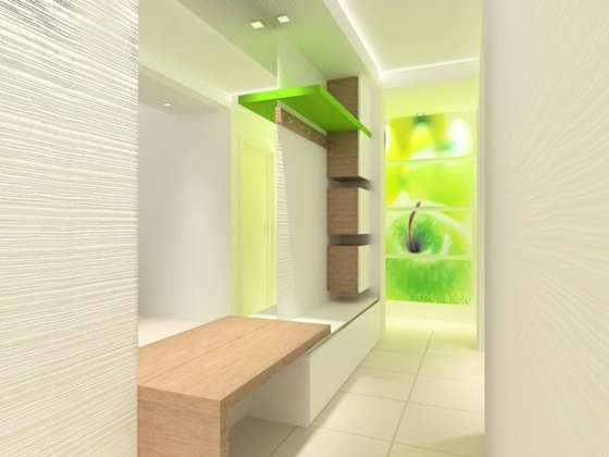 Идеи дизайна коридора на 40 фото