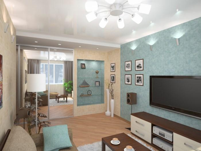 Дизайн проходной комнаты в хрущевке