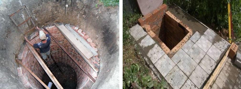Сливная яма в частном доме своими руками из кирпича