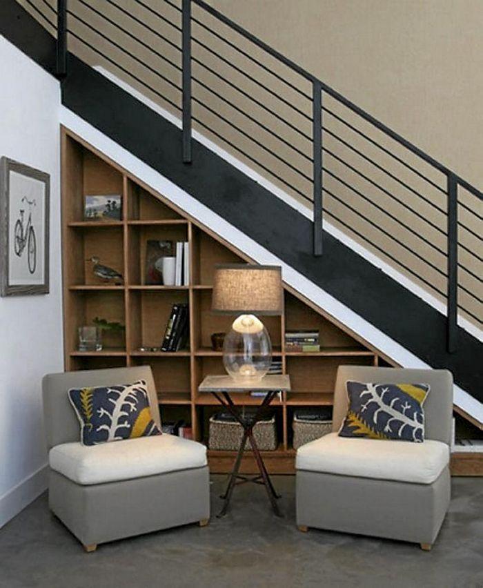 Хранение под лестницей? отличная идея!