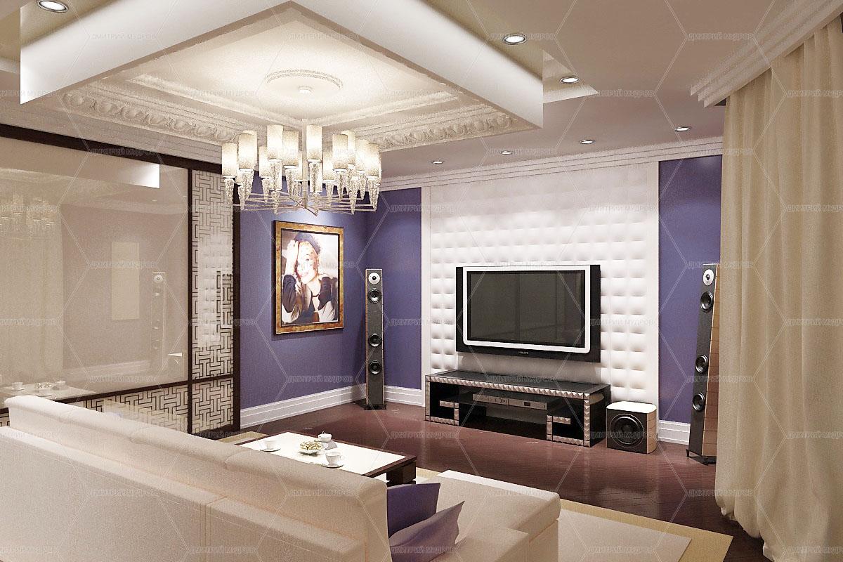 Основные принципы дизайна гостиной: фото, описание
