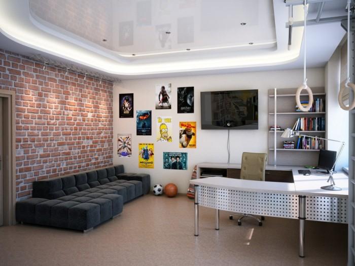 Дизайн интерьер комнаты для подростка