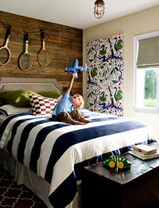 Спальни для мальчиков: 77 уютных комнат для мальчишек фото