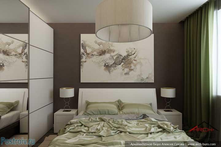 Искали идеи интерьера спальни в типовом панельном доме? тут 2 варианта дизайна интерьера. 10 фото