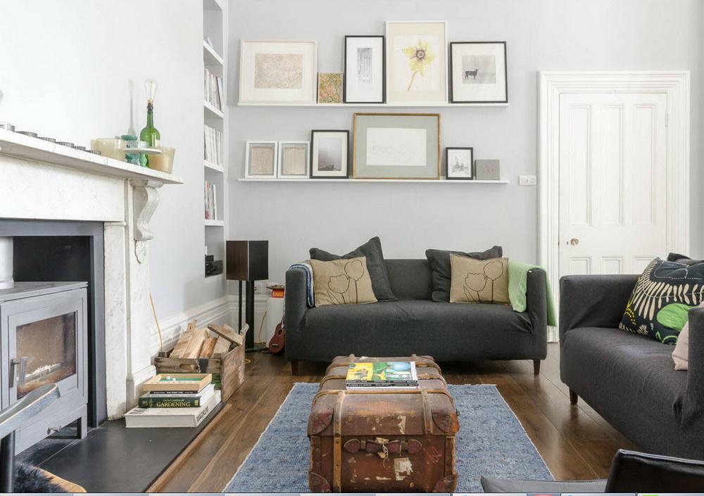 Серые обои в интерьере: гостиная, кухня, спальня, детская, ванна фото