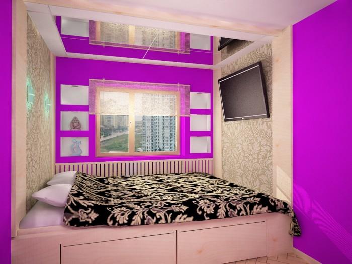 Дизайн гостиной в хрущевке: интерьер гостиной с фото