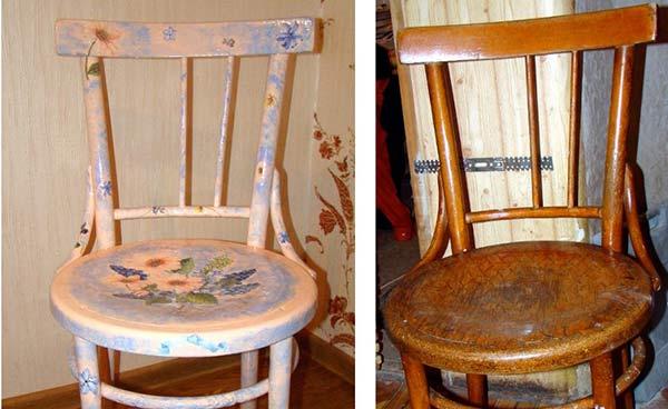 Реставрация стульев своими руками с мастер-классом