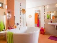 Стены в ванной - 30 вариантов