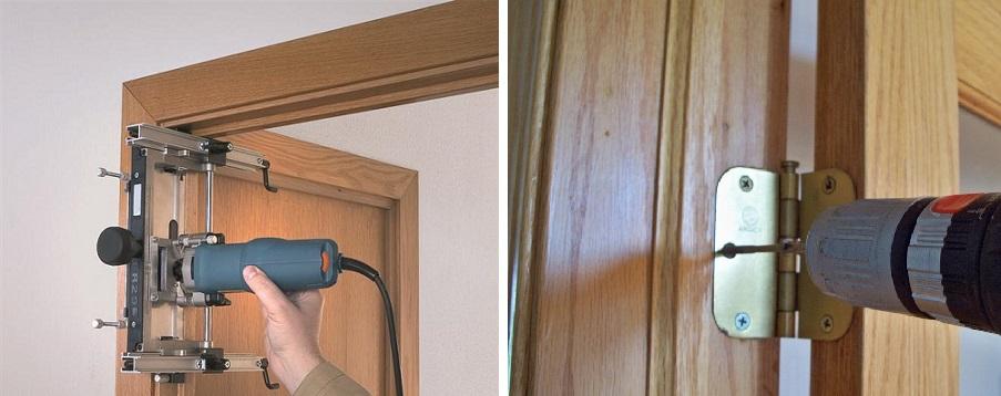 Установка межкомнатных дверей своими руками пошаговая инструкция. фото