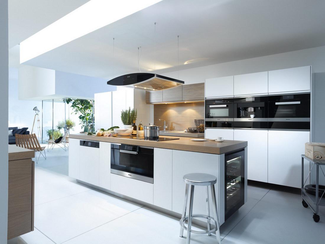 Большая и красивая кухня - 100 стильных фото