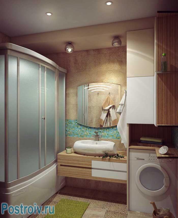 Душевая кабина в ванной комнате. рассмотрим основные варианты