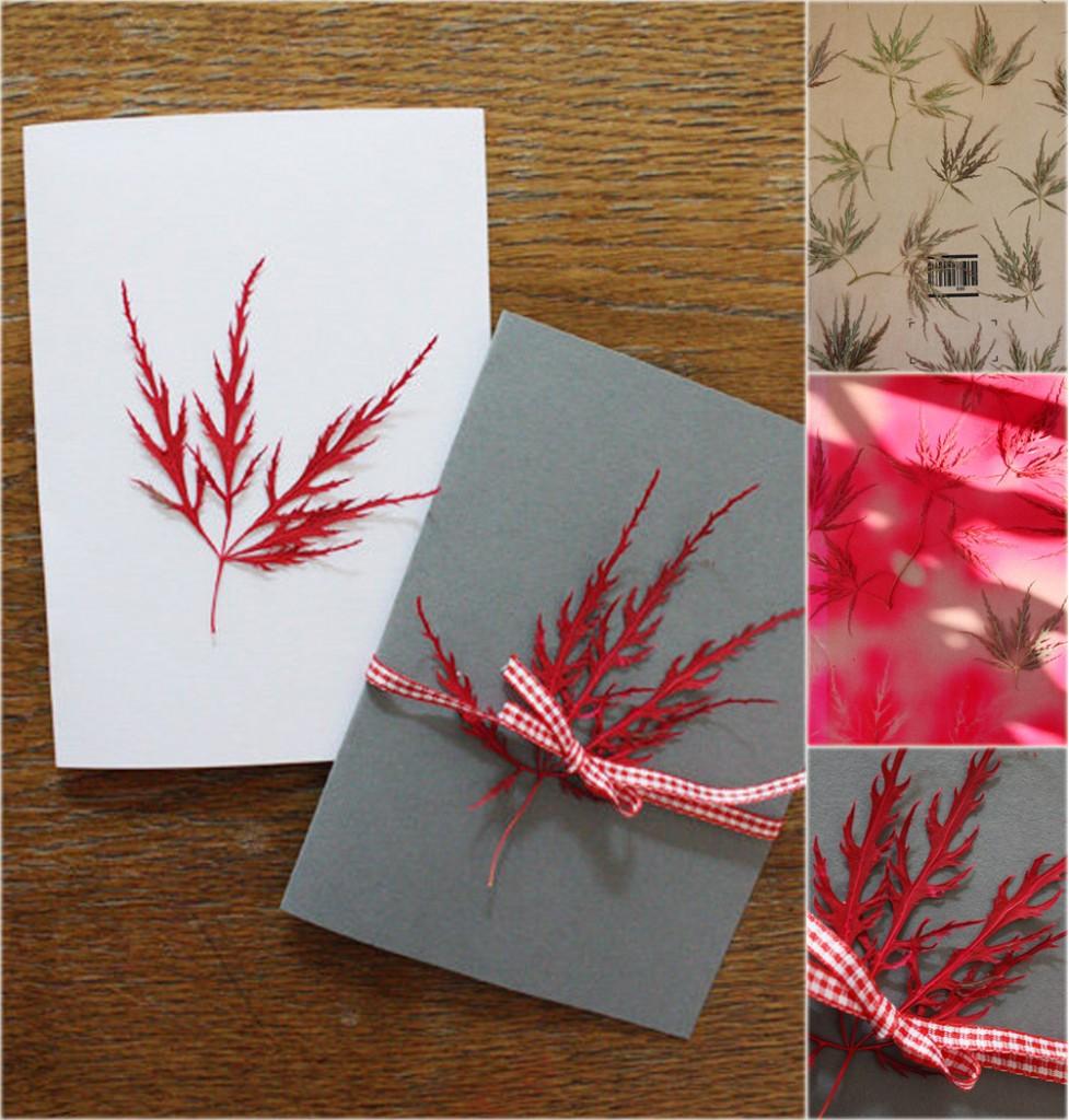 Идеи необычных осенних открыток своими руками — 2 фото и мастер-класса