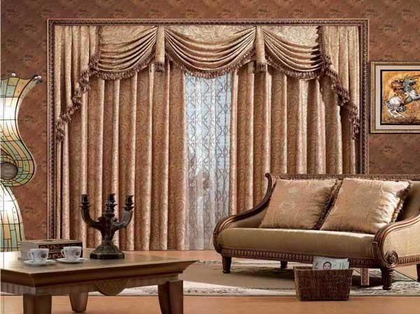 Дизайн штор для гостиной. фото различных вариантов оформления штор