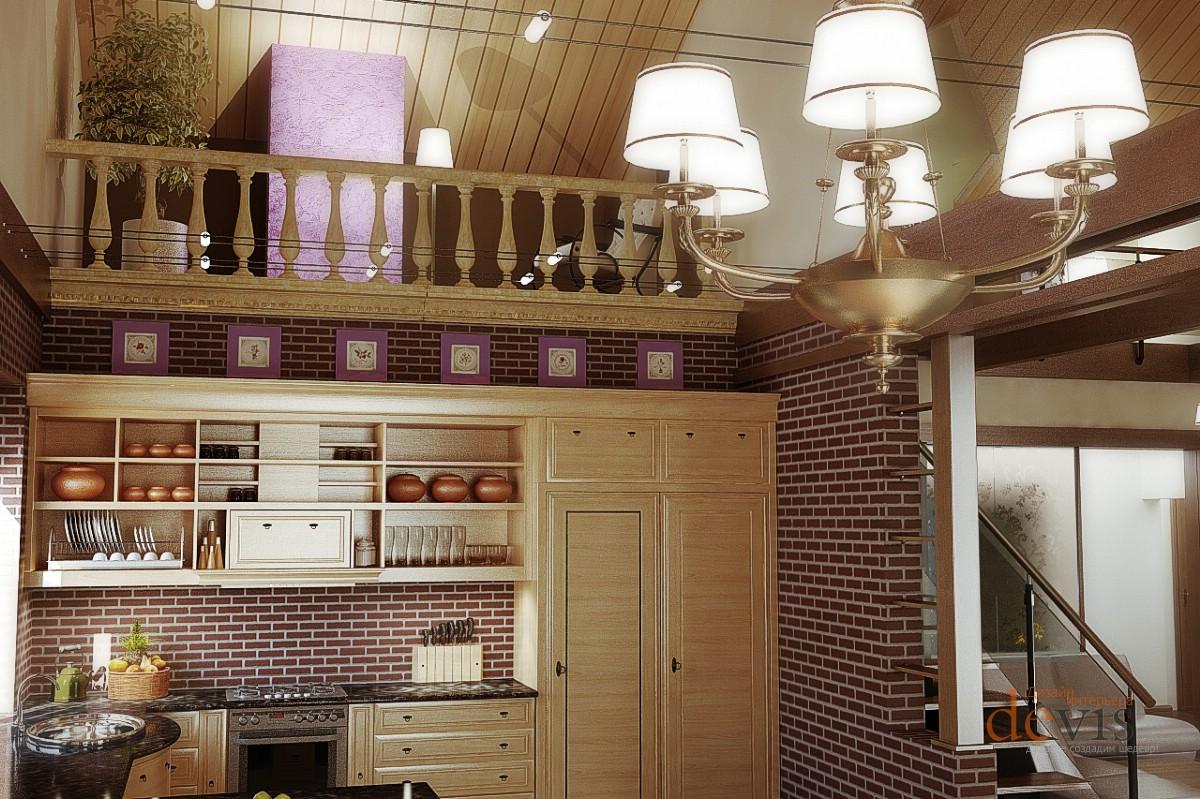 Дизайн комнаты с кирпичной стеной в различных стилях
