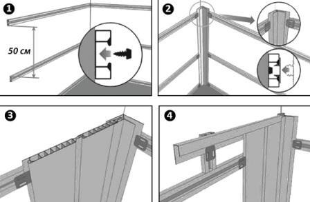 Как клеить плитку пвх на стену