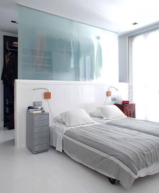 Блестящие идеи хранения одежды в спальне 30 фото