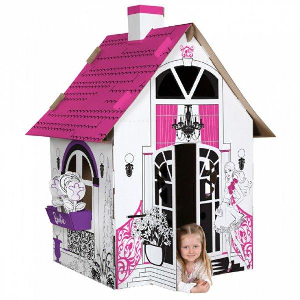 Diy: красивый картонный домик для ребенка своими руками