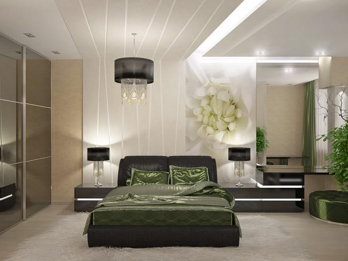 Дизайн спальной комнаты в квартире