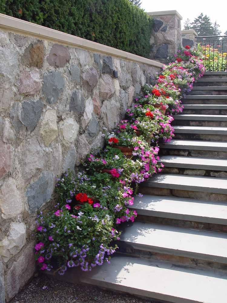Садовая лестница своими руками — 47 классных идей и советов