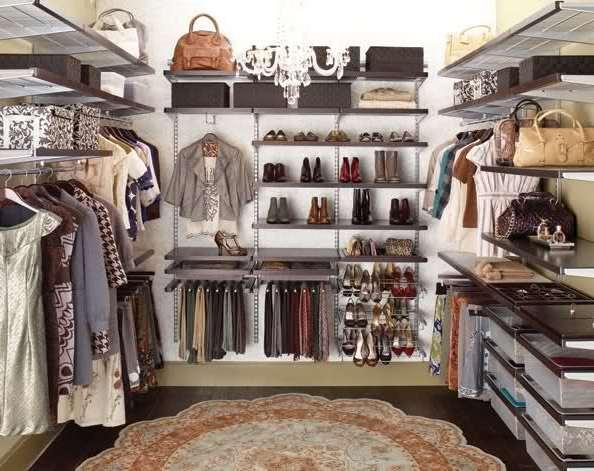 Как сделать гардеробную своими руками в домашних условиях