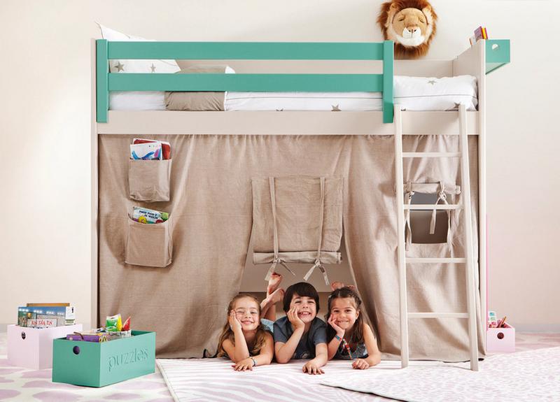 Детская кровать домик - ребенок всегда о такой мечтает фото