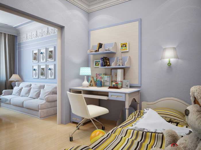 Оформление маленькой двухкомнатной квартиры 40 кв.м. в классическом стиле