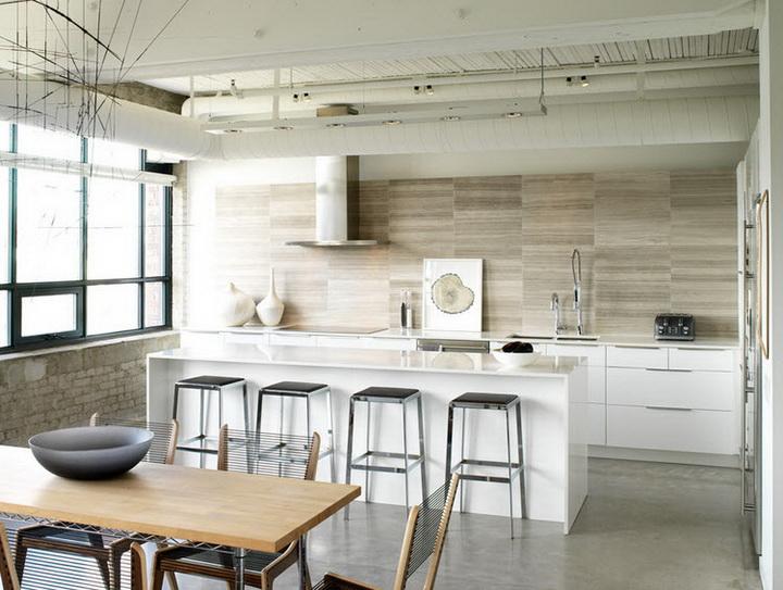 Кухня в стиле минимализм - функциональность и простота 80 фото