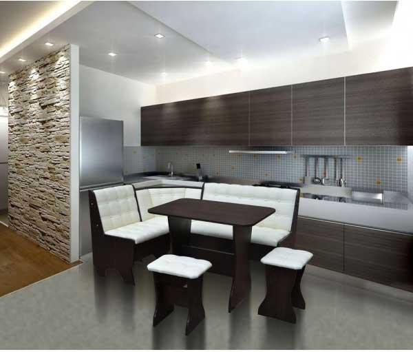 Диваны для кухни. дизайн кухни с диваном. как выбрать диван на кухню