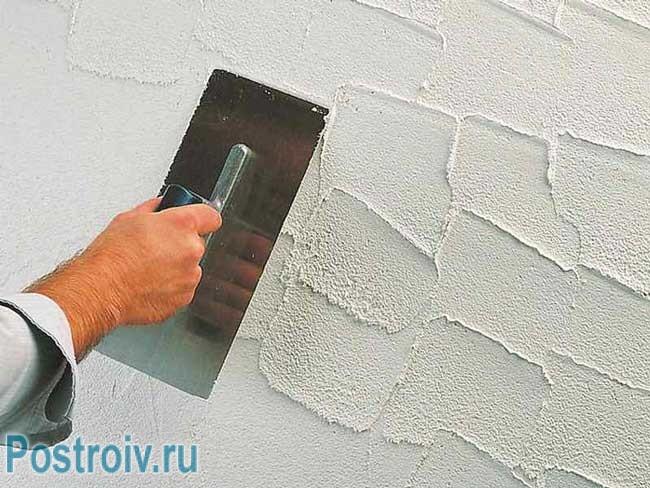 Декоративная штукатурка стен: немного старания и терпения и ваша квартира выглядят по королевски